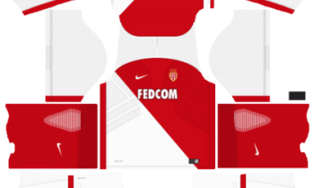 Dream League SoccerAS Monaco FC Kits and Logos 2019-2020 – [512X512]