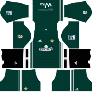 Real Betis Away Kit DLS 2018