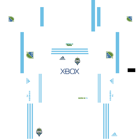 Seattle Sounders FC Away Kits DLS 2018
