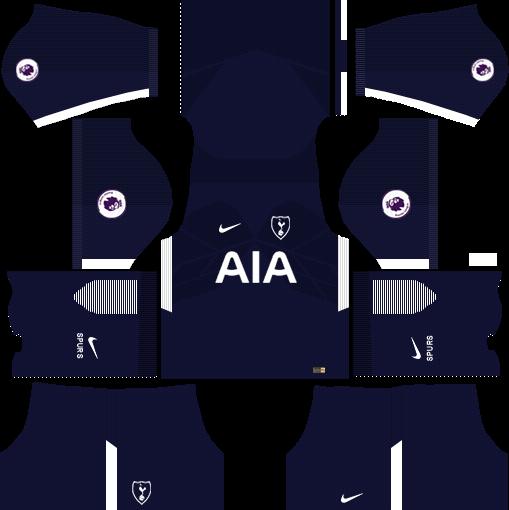 Tottenham Hotspur Away Kits DLS 2018