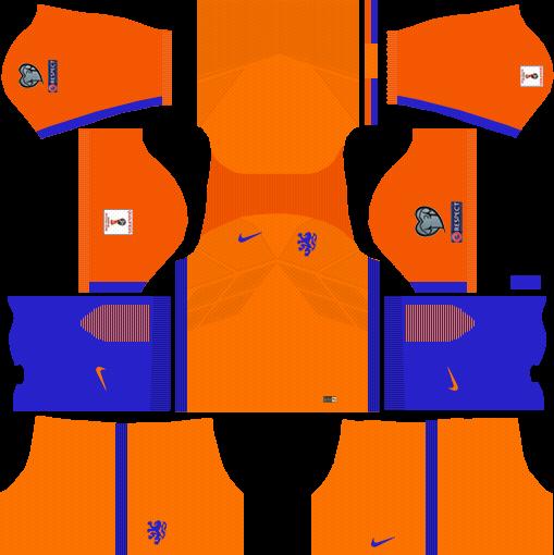 Netherlands Home Kit DLS 2018