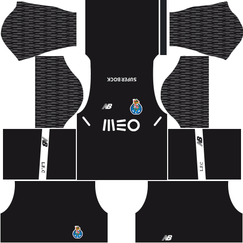 FC Porto Goalkeeper Away Kits DLs 2018