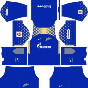 Zenit St Petersburg Third Kits DLS 2018