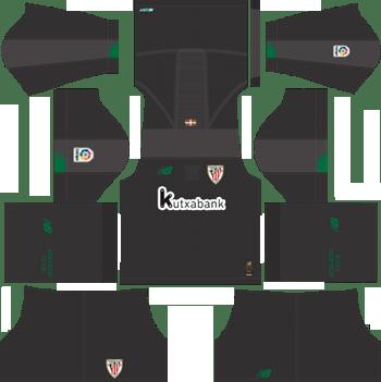 Athletic-Bilbao-Goalkeeper-Home-Kit-2019-2020-DLS-19-20-Kits-Dream-League-Soccer