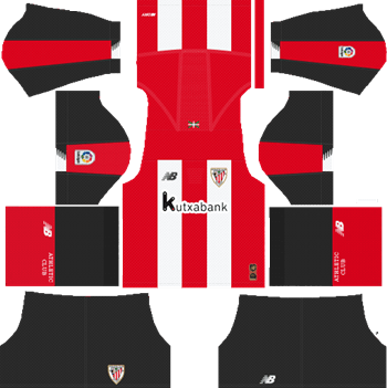 Athletic-Bilbao-Home-Kit-2019-2020-DLS-19-Kits-Dream-League-Soccer