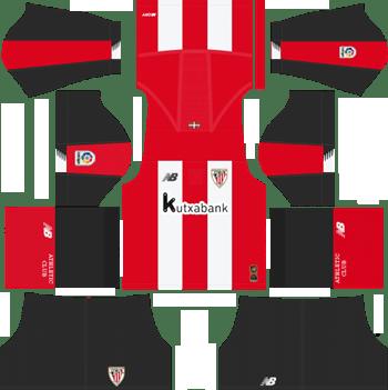 Athletic-Bilbao-Home-Kit-2019-2020-DLS-19-Kits-Dream-League-Soccer