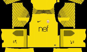 Galatasaray S.K. Goalkeeper Away Kits DLS 2019