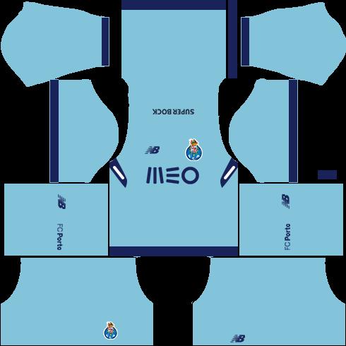 FC Porto Third Kits DLS 2018