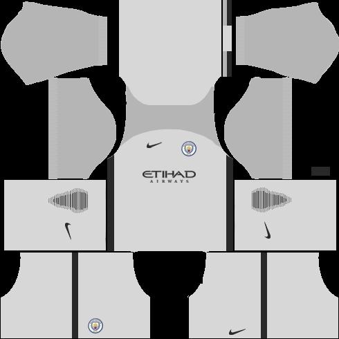 Manchester City Goalkeeper Away Kits DLS 2018