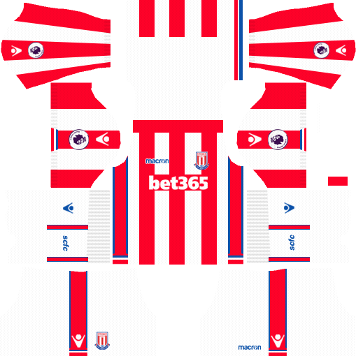 Stoke City F.C. Home Kits DLS 2018