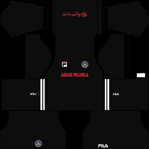 Pahang Fila Kits Goalkeeper Home DLS 2018