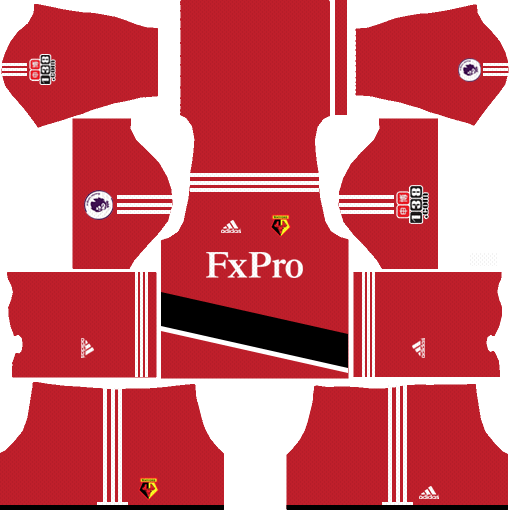 Watford F.C. Home Kits DLS 2018
