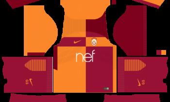 Galatasaray S.K. Home Kits DLS 2019
