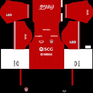 Dream League Soccer Muangthong United Kits and Logos 2018, 2019 – [512X512]
