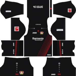 Dream League Soccer Bayer Leverkusen Kits and Logos 2018, 2019 – [512X512]