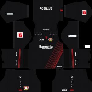 Bayer Leverkusen Home Kits DLS 2018