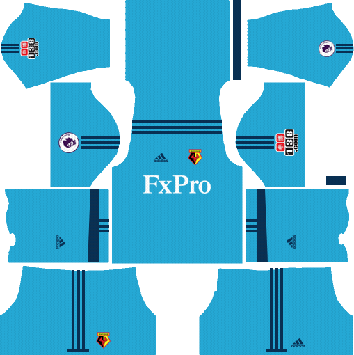 Watford F.C. Goalkeeper Home Kits DLS 2018
