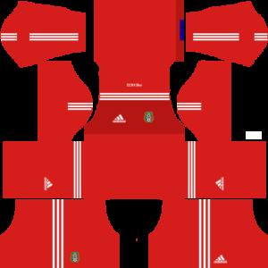 Mexico Kits Away Goalkeeper 2018