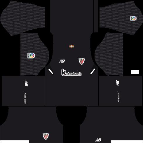 Dream League Soccer Athletic Bilbao goalkeeper third kit 2018 - 2019