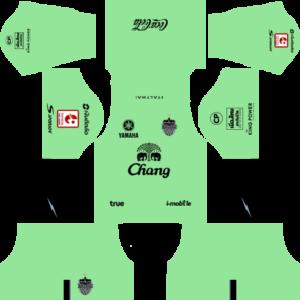 Buriram United Kits Home Goalkeeper DLS 2019
