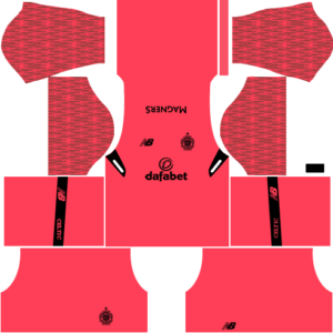 Celtic FC Goalkeeper Third Kit DLS 2018