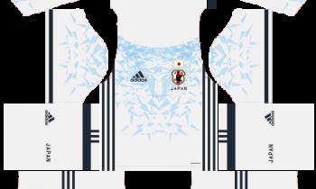 Japan Away Kits DLS 2019