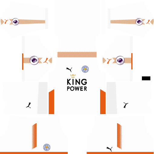 Leicester City Goalkeeper Away Kits DLS 2018