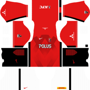 Dream League Soccer Urawa Red Diamonds Kits and Logos 2018, 2019 – [512X512]