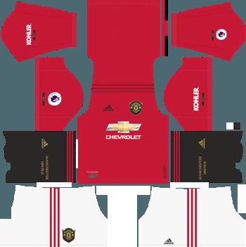 Manchester-United-Home-Kit-2019-20-DLS-19-Kits-Dream-League-Soccer