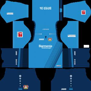 Bayer Leverkusen Fourth Kits DLS 2018