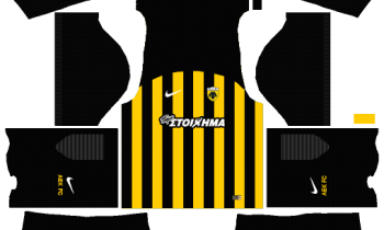 Dream League Soccer AEK F.C Kits and Logos 2019-2020 – [512X512]
