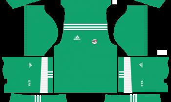 Egypt Adidas Goalkeeper Away Kits DLS 2019