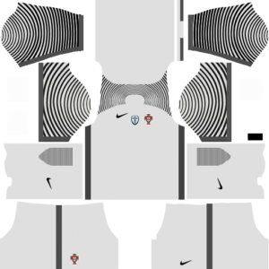 Portugal Goalkeeper Away Kit DLS 2018