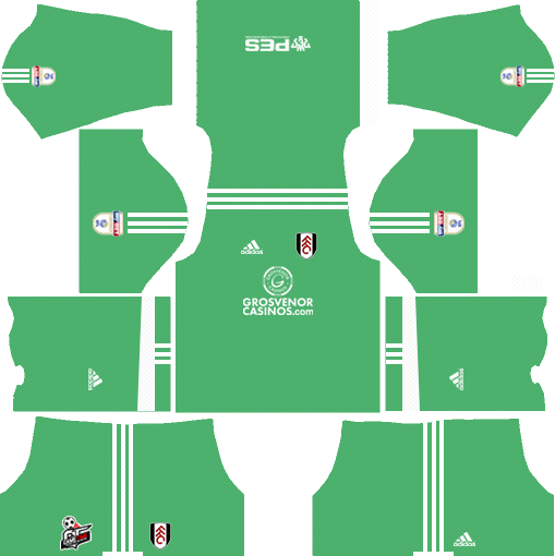 Fulham F.C. Goalkeeper Away Kits DLS 2018