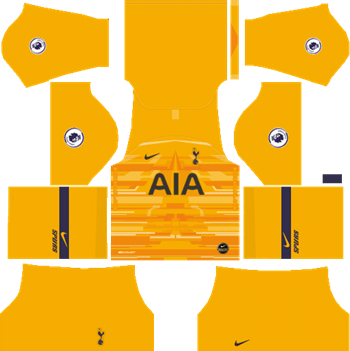 Tottenham-Hotspur-Goalkeeper-Away-Kit-2019-20-DLS-19-Kits-Dream-League-Soccer