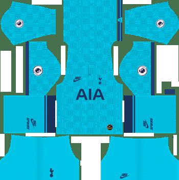 Tottenham-Hotspur-Third-Kit-2019-20-DLS-19-Kits-Dream-League-Soccer