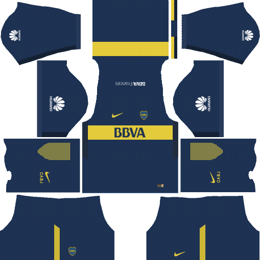 Boca Junior Home Kits DLS 2018