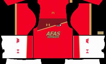 Dream League SoccerAZ Alkmaar Kits and Logos 2019-2020 – [512X512]