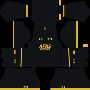 AZ Alkmaar Third Kits DLS 2018