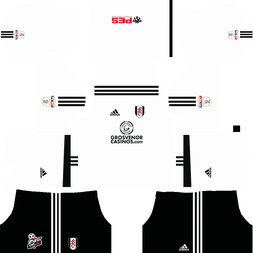 Fulham F.C. Home Kits DLS 2018