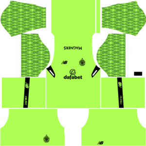 Celtic FC Goalkeeper Home Kit DLS 2018