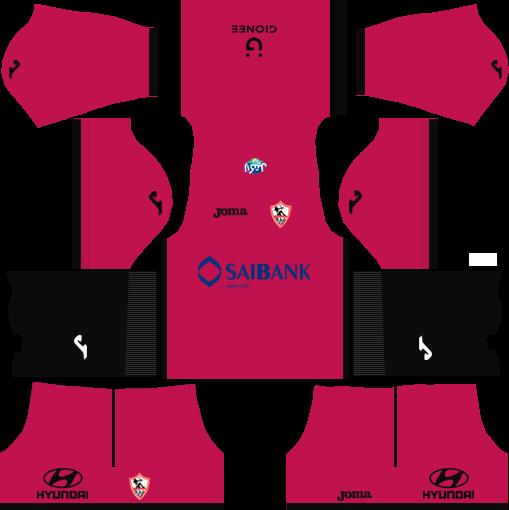 Al-Zamalek SC Goalkeeper Away Kits dls 2018