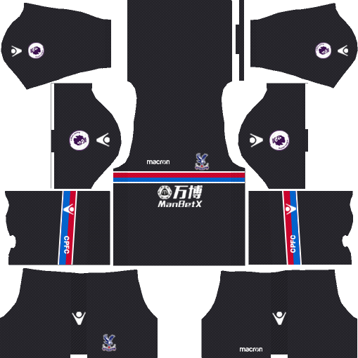 Crystal Palace F.C. Away Kits DLS 2018