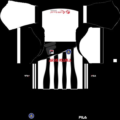 Pahang Fila Kits Away DLS 2018