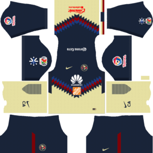 Dream League Soccer Club América Kits and Logos 2018, 2019 – [512X512]