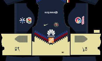 Club América Home Kits DLS 2018