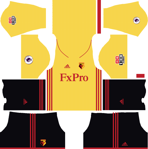 Watford F.C. Away Kits DLS 2018