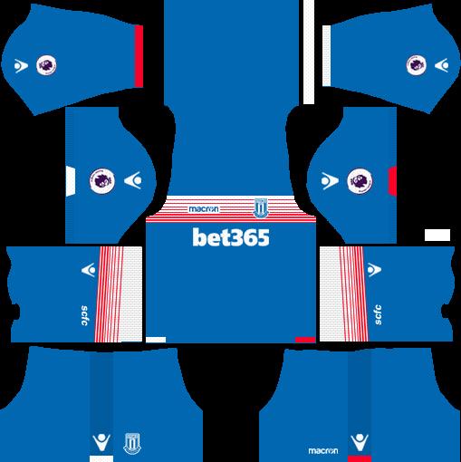 Stoke City F.C. Away Kits DLS 2018