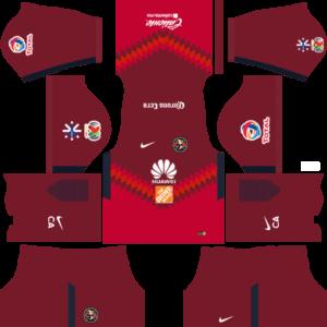 Club América Goalkeeper Home Kits DLS 2018