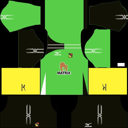Negeri Sembilan Kits Goalkeeper Away DLS 2018